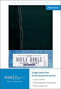 NIV Large Print Reference Bible, Personal Size, Sam's Club - Zondervan - Hardcover