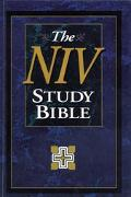 NIV Study Bible: New International Version (NIV), black bonded leather - Zondervan Publishin...