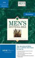 Men's Devotional Bible, Compact Edition: New International Version (NIV), british tan premiu...