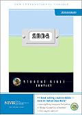 Student Bible New International Version, Sky Blue/Melon Italian Duotone