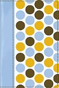 Holy Bible Today's New International Verison, Italian Duo, Pale Blue Pattern, Thinline