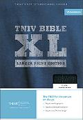 Holy Bible Today's New International Version, Black, Thinline, Bonded Leather