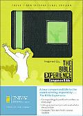 Inspired by . . . the Bible Experience Black/lime, Italian Duo-tone, Companion Bible