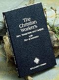Christian Worker's New Testament With Psalms and Plan of Salvation King James Version (Kjv),...