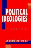 Political Idealogies: An Introduction