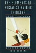 Elements of Social Scientific Thinking