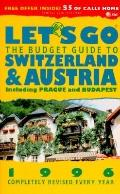 Let's Go The Budget Guide to Austria and Switzerland, 1996