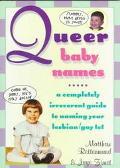 Queer Baby Names - Mattew Rettenmund - Paperback