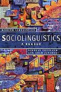 Sociolinguistics A Reader and Coursebook