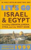Let's Go Israel & Egypt 1999 - Let's Go Travel Guides - Paperback - REVISED