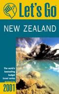Let's Go 2001: New Zealand: The World's Bestselling Budget Travel Series