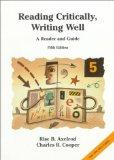 Reading Critically, Writing Well : A Reader and Guide