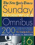 New York Times Sunday Crossword Omnibus