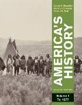 America's History, Volume 1: To 1877