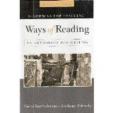 Resources for Teaching, Ways of Reading an Anthology for Writers