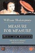 Measure For Measure Texts And Contexts