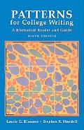 Patterns for College Writers A Rhetorical Reader and Guide