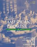 American Promise A History of the United States, to 1877