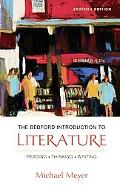 Bedford Introduction to Literature Reading Thinking and Writing