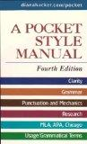 Pocket Style Manual 4e & Working with Sources MLA Quick Reference