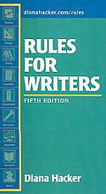 Rules for Writers 5e & i cite
