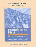Supplemental Exercises to Accompany Foundations First with Readings