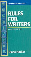 Rules for Writers 5e & Comment for Rules for Writers 5e & Hacker Research Pack