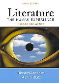 Literature: The Human Experience 9e & LiterActive & Easy Writer 3e