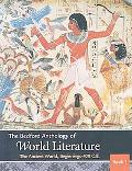 Bedford Anthology of World Literature V1 & V2 & V3 & Writing about Literature & MLA Quick Re...