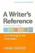 Writer's Reference 6e with Help for Writing in the Disciplines & Research Pack