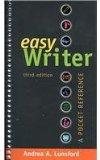 Easy Writer 3e & MLA Quick Reference Card & APA Quick Reference Card & St. Martin's Pocket G...