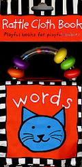 Rattle Cloth Book Words