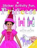 Sticker Activity Fun Princess