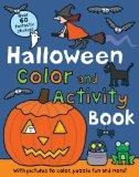 Halloween Preschool Color and Activity Book