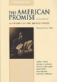 American Promise 4e V2 Value Edition & Pocket Guide to Writing in History 5e