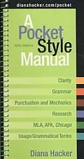 Pocket Style Manual 5e & APA Quick Reference Card