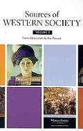 Sources of Western Society: Volume 2: From Absolutism to the Present