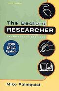 Bedford Researcher 3e with 2009 MLA Update & Literature A Portable Anthology 2e
