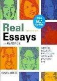 Real Essays with Readings with 2009 MLA Update & WritingClass & From Practice to Mastery