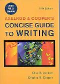 Concise Guide to Writing  (Ed.5  with 2009 MLA Update & i-cite)