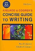 Concise Guide to Writing 5e with 2009 MLA Update & Sticks and Stones 6e & Bedford St. Martin...