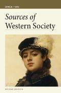 Sources of Western Society Since 1300