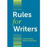 Rules for Writers with Writing about Literature (Tabbed Version)