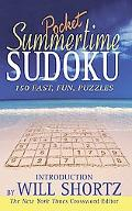 Summertime Pocket Sudoku 150 Fast, Fun Puzzles
