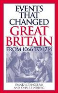 Events That Changed Great Britain from 1066 to 1714