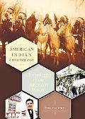 American Indian Chronology Chronologies of the American Mosaic