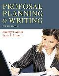 Proposal Planning and Writing, 4E