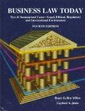 Business Law Today: Text & Summarized Cases : Legal, Ethical, Regulatory, and International ...