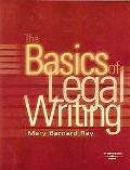 Basics of Legal Writing
