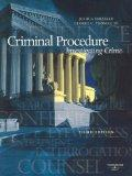 Criminal Procedure: Investigating Crime, (American Casebook Series)